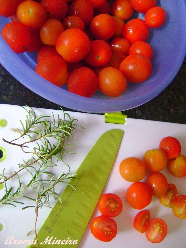 Aroma Mineiro : Tomate Seco em Conserva e no Aperitivo de Abobrinha