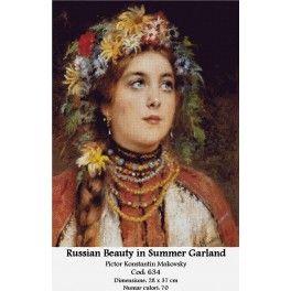 Set goblen - Russian Beauty in Summer Garland