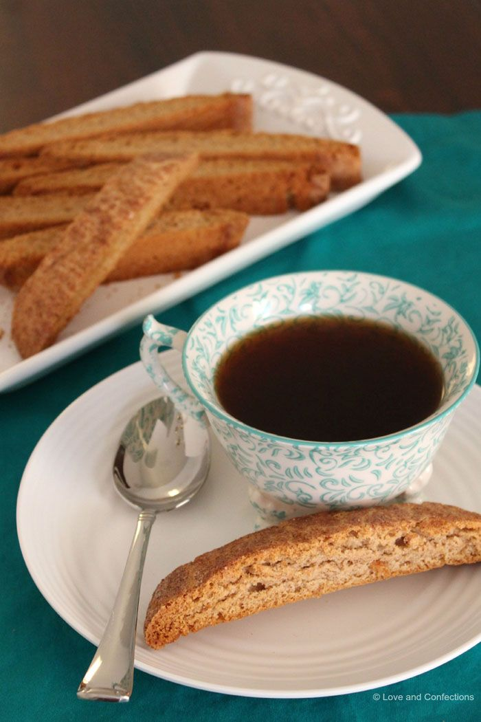 Snickerdoodles Biscotti - Guest Post from Love and Confections - Cupcakes & Kale Chips