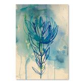 Found it at Wayfair - Paula Mills Wash Protea Painting Print
