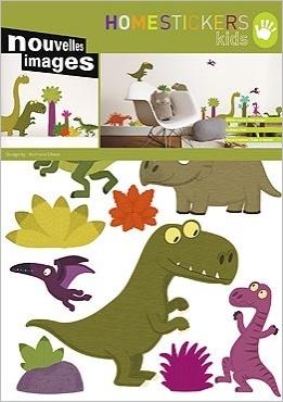 Durf jij het aan, deze muurstickers met dinosaurussen?