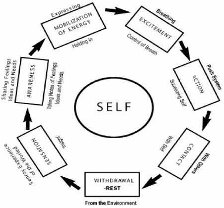 Interesting take on the Cycle of Experience a la Gestalt Cleveland