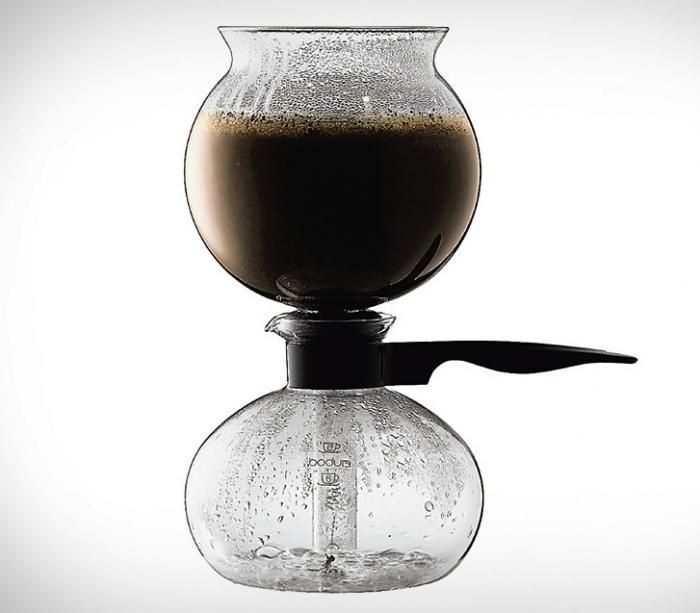 Siphon coffee-interesting, maybe useful for distilling things?
