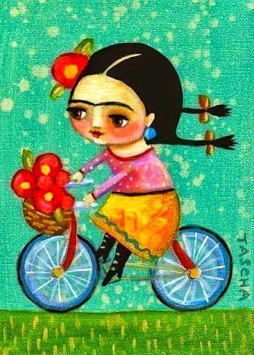 Frida Kahlo por Tascha Parkinson
