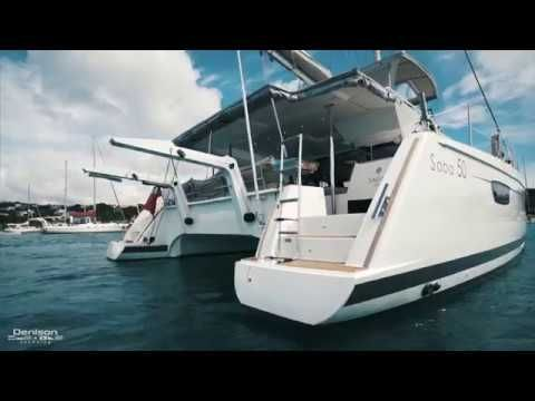 Fountaine Pajot Saba 50 Yacht Tour #wysluxury