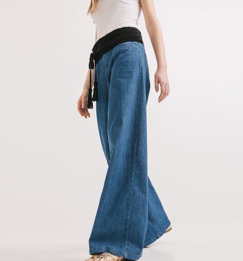 Jeans+cintura+alta