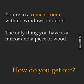 Riddle of the day!