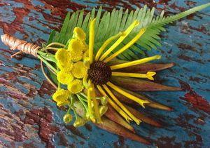 Wildflower, Forest & Meadow Wedding Boutonniere