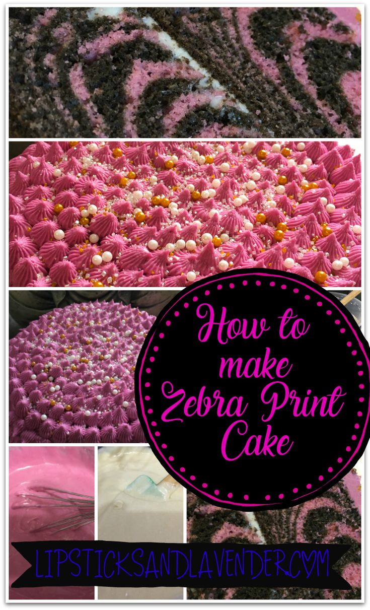 Turn a cheap no-name box cake into a bakers delight! Instructions on making a Bakery style Zebra Cake! Be your own Cake Boss! #baking #dessert #cake #zebra