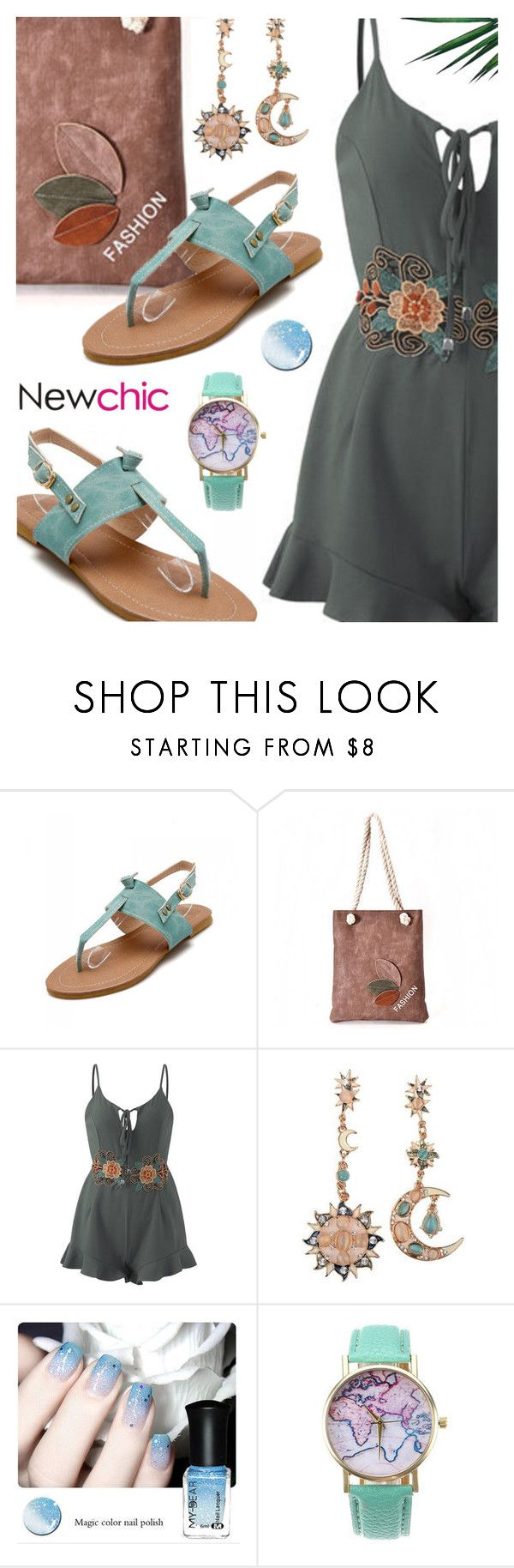 """""""Newchic"""" by ana3blue on Polyvore featuring Nika and vintage"""