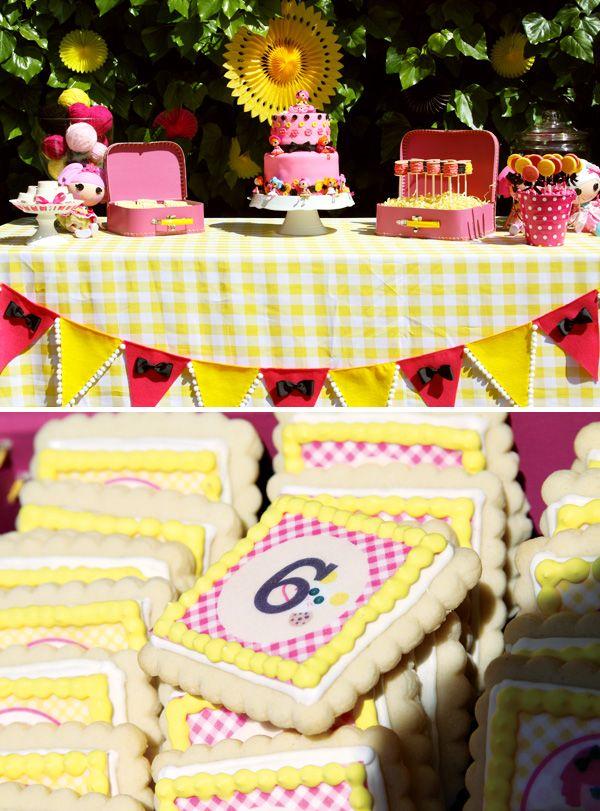 Creative Pink Yellow Lalaloopsy Birthday Party