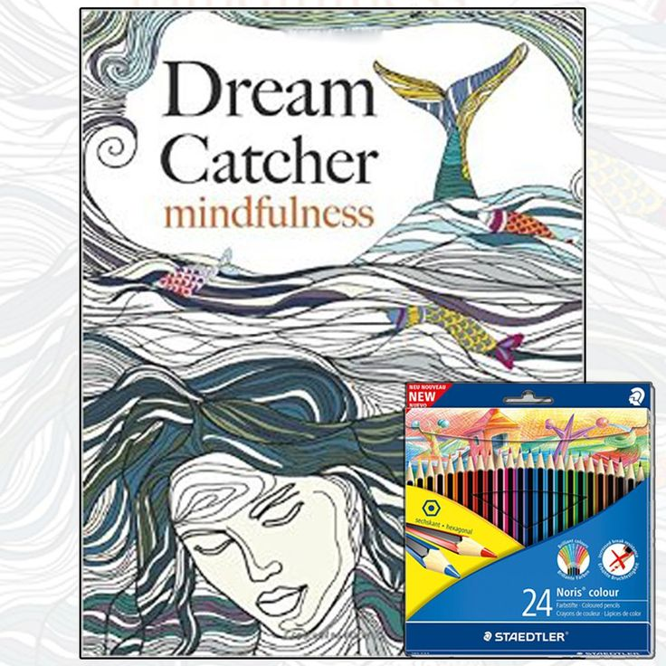 Dream Catcher Mindfulness Book With Coloring Pencil Pack At Wholesale Price Dreamcatcher Books