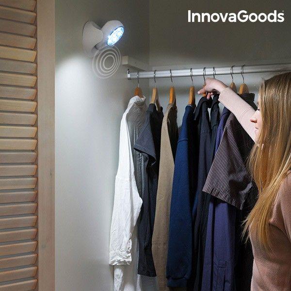 Lampara Led Con Sensor De Movimiento Innovagoods 15 32 Eur Lampara Led Sensores De Movimiento Lampara