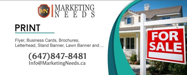 Print - Realtors [Lawn, Banner, Business Cards, Flyers]