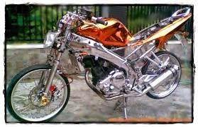 cara modifikasi motor yamaha vixion menjadi drag style balap dan kencang