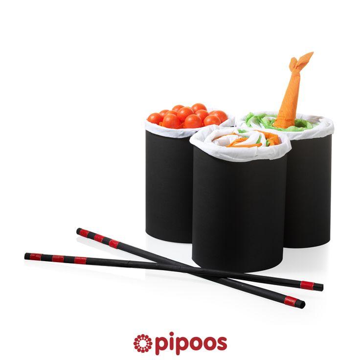 Sinterklaas surprise voor 5 december. Voor degene die je 's nachts wakker kunt maken voor een heerlijke sushi.