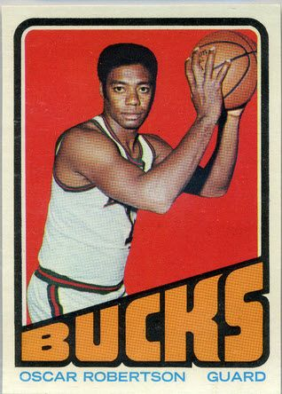Oscar Robertson Basketball Cards Recall One of NBA's Elite