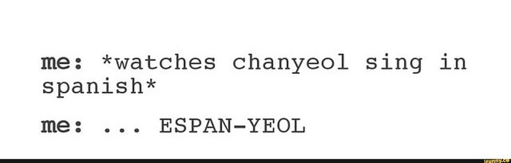Lol. But real talk, #Exo singing Sabor A Mi was literally one of the best things ever.