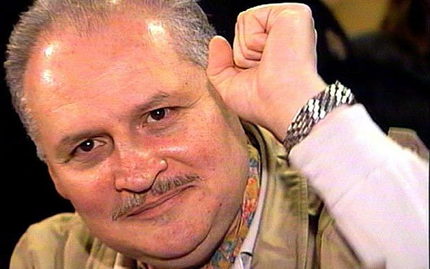 """A defiant and smiling Carlos the Jackal, one of the most dreaded terror   masterminds, began his trial in Paris with the cheerful declaration: """"I'm   a professional revolutionary""""."""
