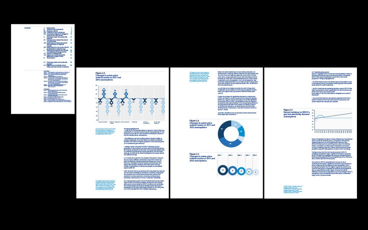 Oxera report templates.