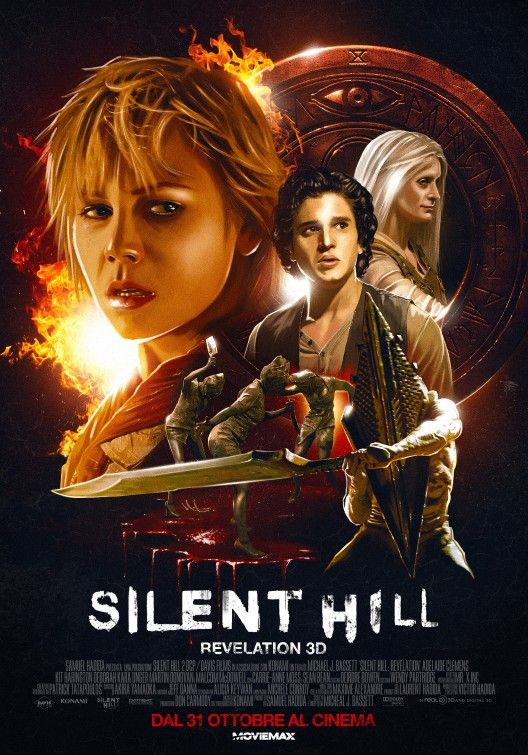 Silent Hill: Revelation 3D 2012   Movies Review Wikipedia