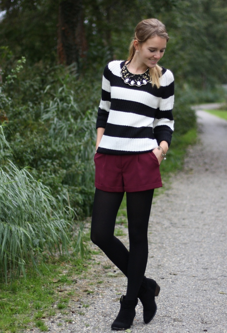 Primark  Sweaters, Primark  Shorts and Primark  Ankle Boots / Booties