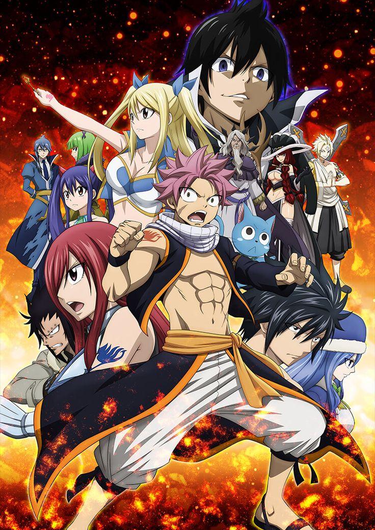Fairy Tail Final Series New Key Visual Final Battle