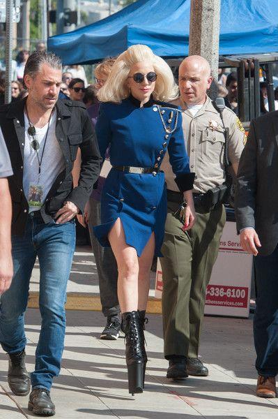 Lady Gaga Photos: Elton John and Lady Gaga Perform a Surprise Concert