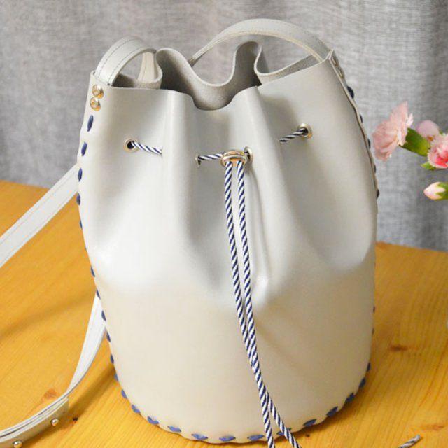 DIY sac seau sans machine à coudre