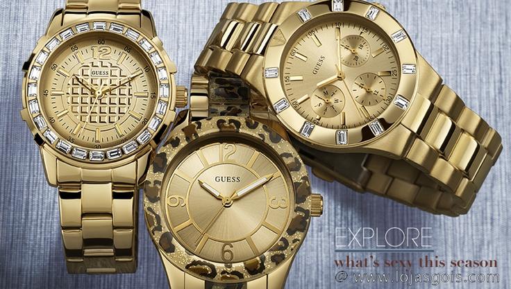 | Colecçao Guess Watches - Outono em www.lojasgois.com  | Guess Watches - Fall collection @ www.lojasgois.com