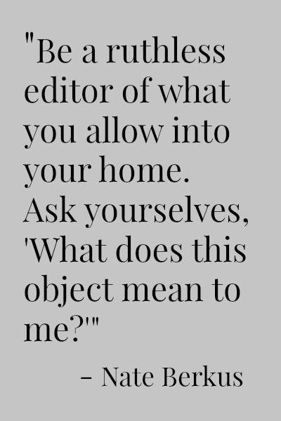Nate Berkus Quote at http://CreatingThisLife.com