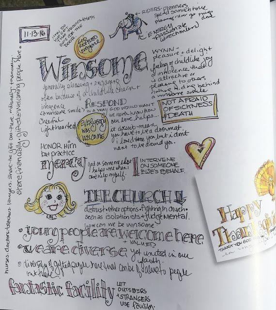 JOURNEYS of FAITH: Sermon Notes Gift- Part 3 | Visual Faith- Sketch