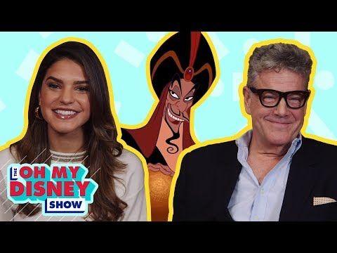 Watch a Disney Movie With ... Aladdin's Jonathan Freeman -- Alexys watches Aladdin with Jonathan Freeman, original voice of Jafar and star of Aladdin on Broadway. | Oh My Disney Show | Oh My Disney