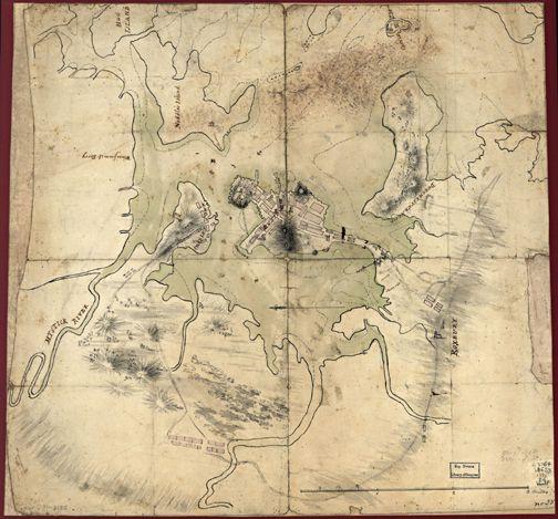 15 best boston antique maps wall art images on Pinterest   Antique ...