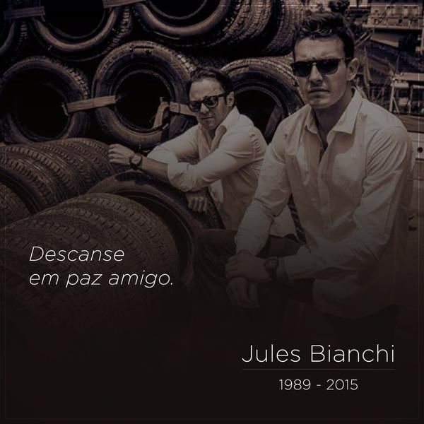 Felipe Massa: All my thoughts with #Jules family   i will miss you brother ! RIP Jules . #JB17 @Jules_Bianchi