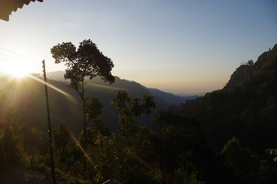 Morning views, Ella's gap, Sri Lanka