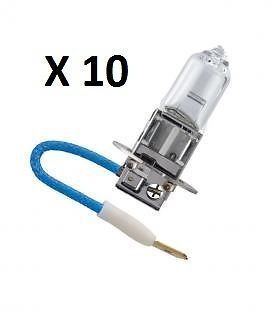 10 Ampoules H3 Standard 12 Volts 55 W Narva Made In Germany