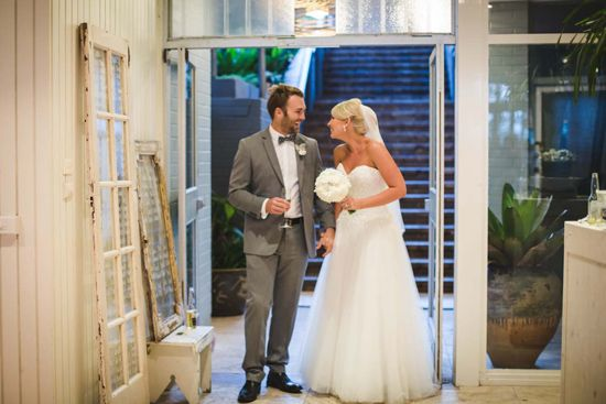 Bree and Paul's Relaxed Ocean Side Wedding