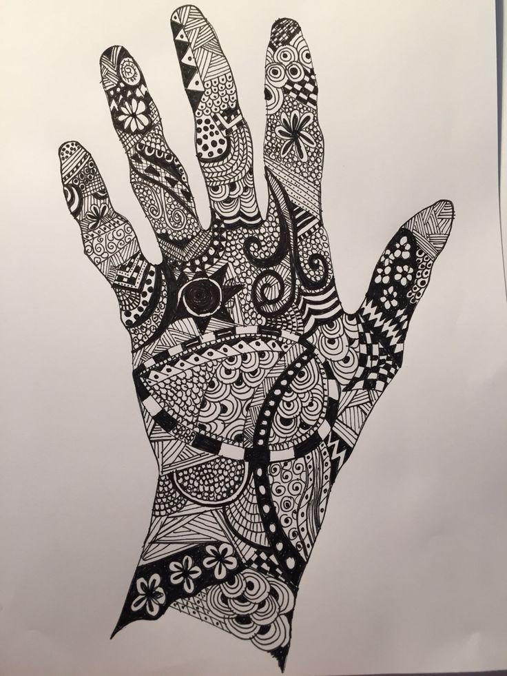 My first ZENTANGLE Art
