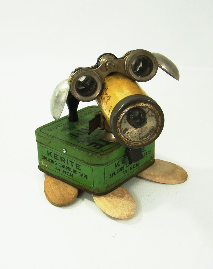Robot Dog By Bill McKenney Bills Retro Robots