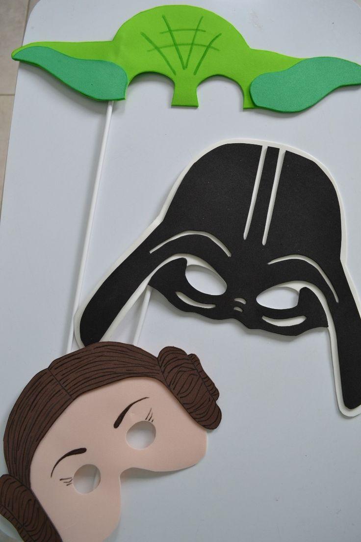 Props Carteles Photo Booth Goma Eva: Star Wars, Emoticones - $ 350,00 en MercadoLibre