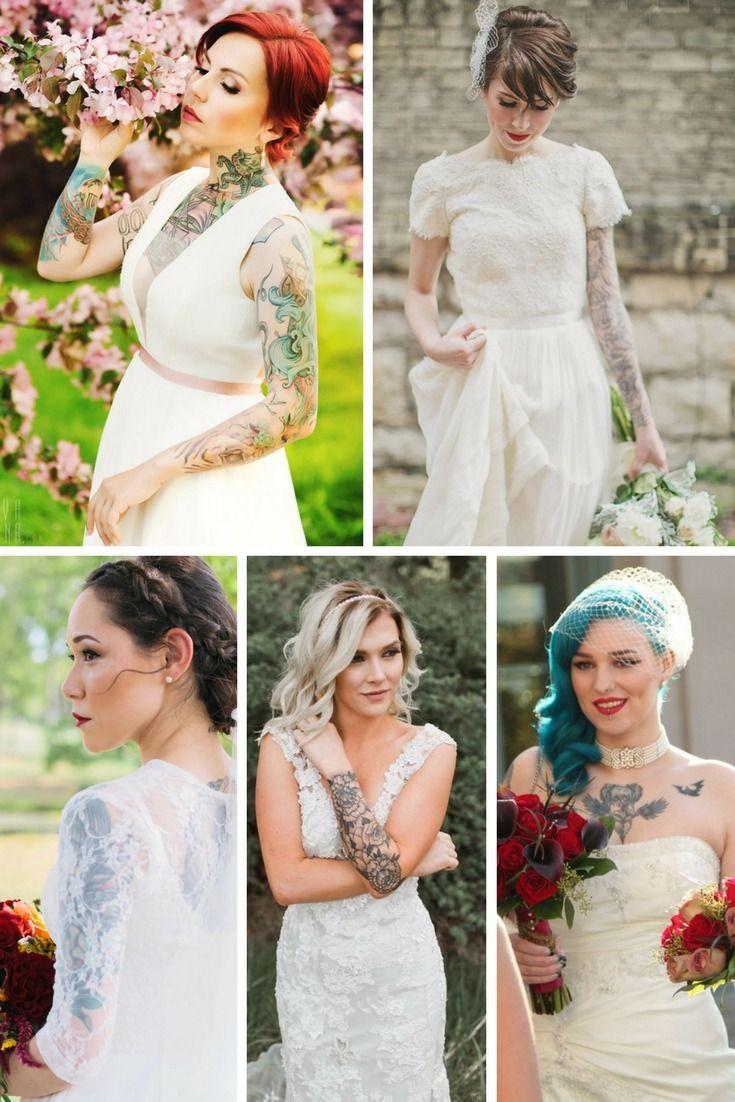 10 mariées tatouées qu'on adore regarder