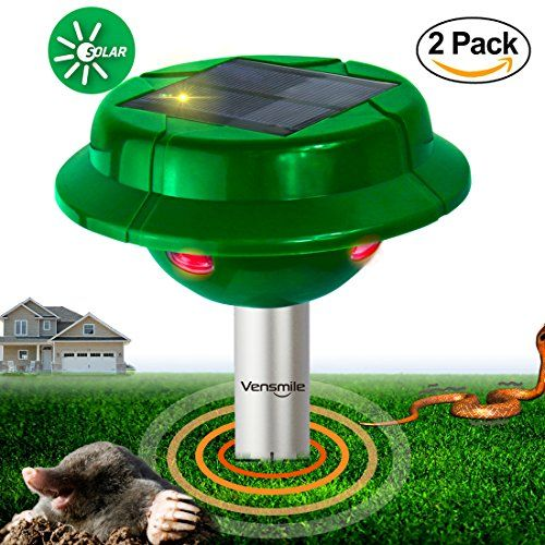 The VENSMILE Solar Snake repeller protect your garder, yard, personal safety from snake, mole, gopher, vole, etc. Get vensmile, you no more need to wo