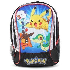 Ideal for the Pokemon fan in the house comes this adorable school bag. Measures approximately 16 inches in length.