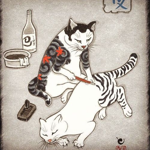 Horitomo :  Monmon cats