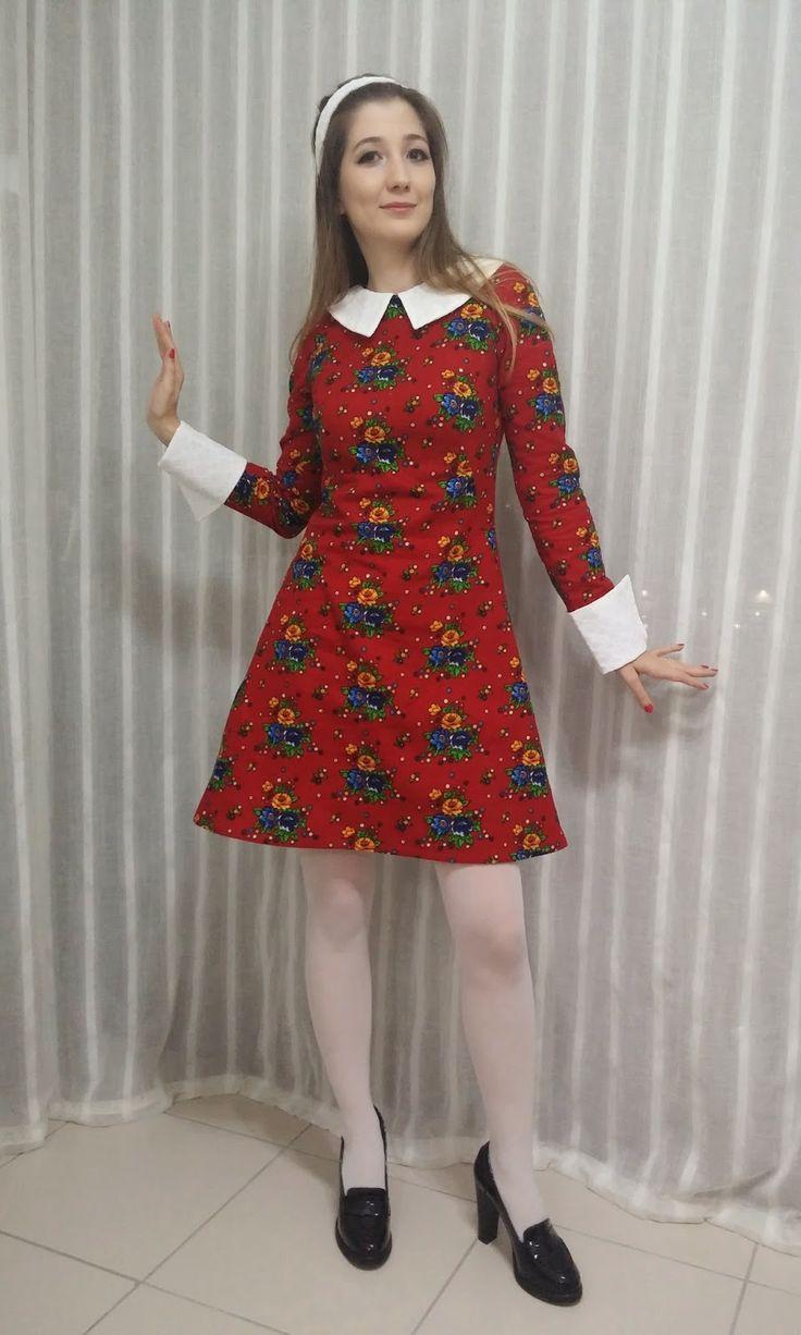 Begum's Francoise dress Pazen / Flannel