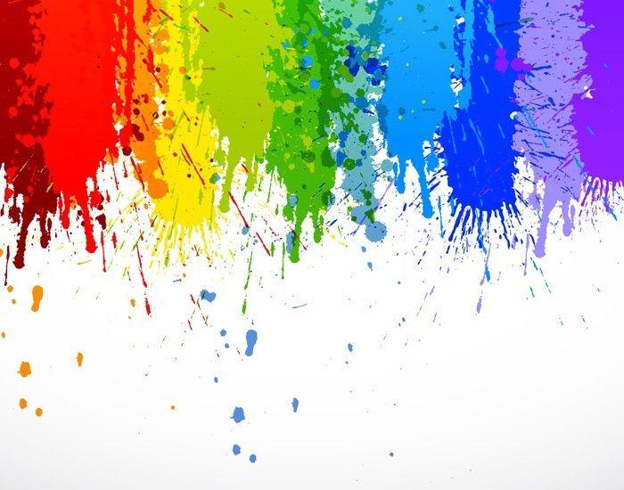Paint Black Colorful Dripping Splatter Color Splash Or Dropping Background Vector Desi Black Background Painting Paint Splash Background Dripping Paint Art