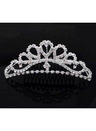 Oostenrijkse huwelijksjuwelen bruids-kroon bruids haar glanzend diamantboren…