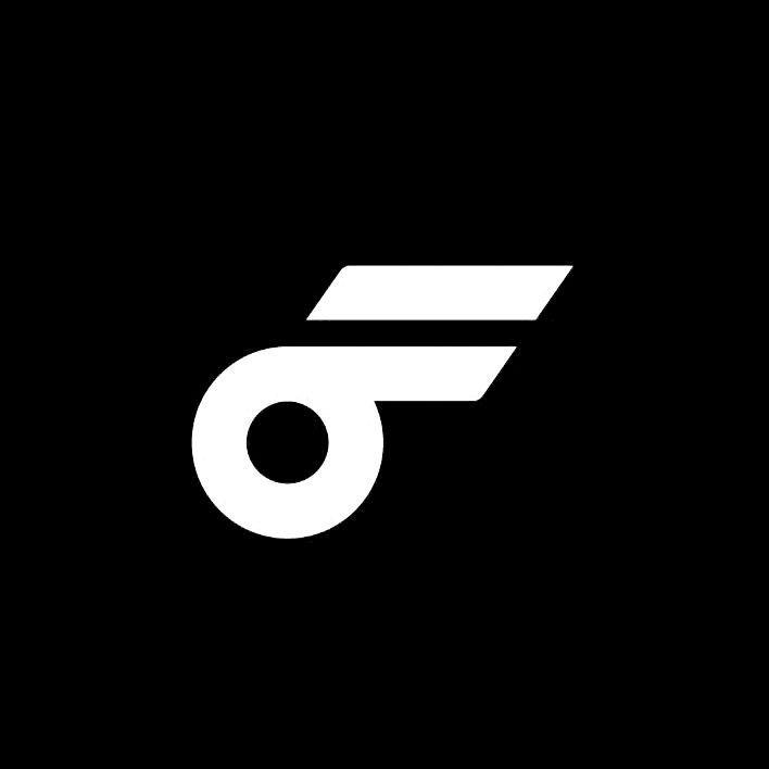 Flywheel by Moving Brands. #branding #design #logo