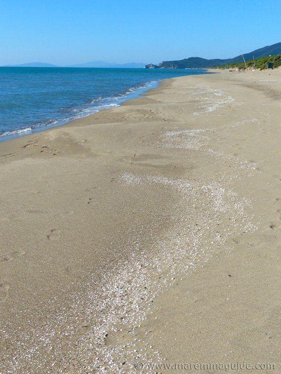Riva del Sole beach Castiglione della Pescaia.